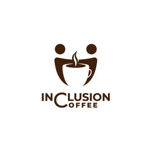 Playful logo for Inclusion Coffee