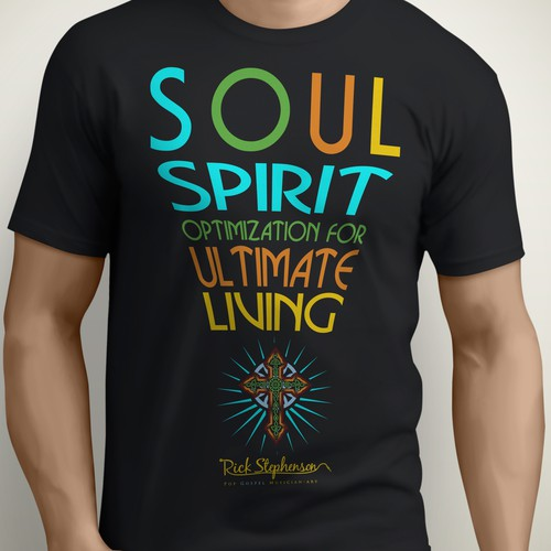 Gospel Art T-shirt Design