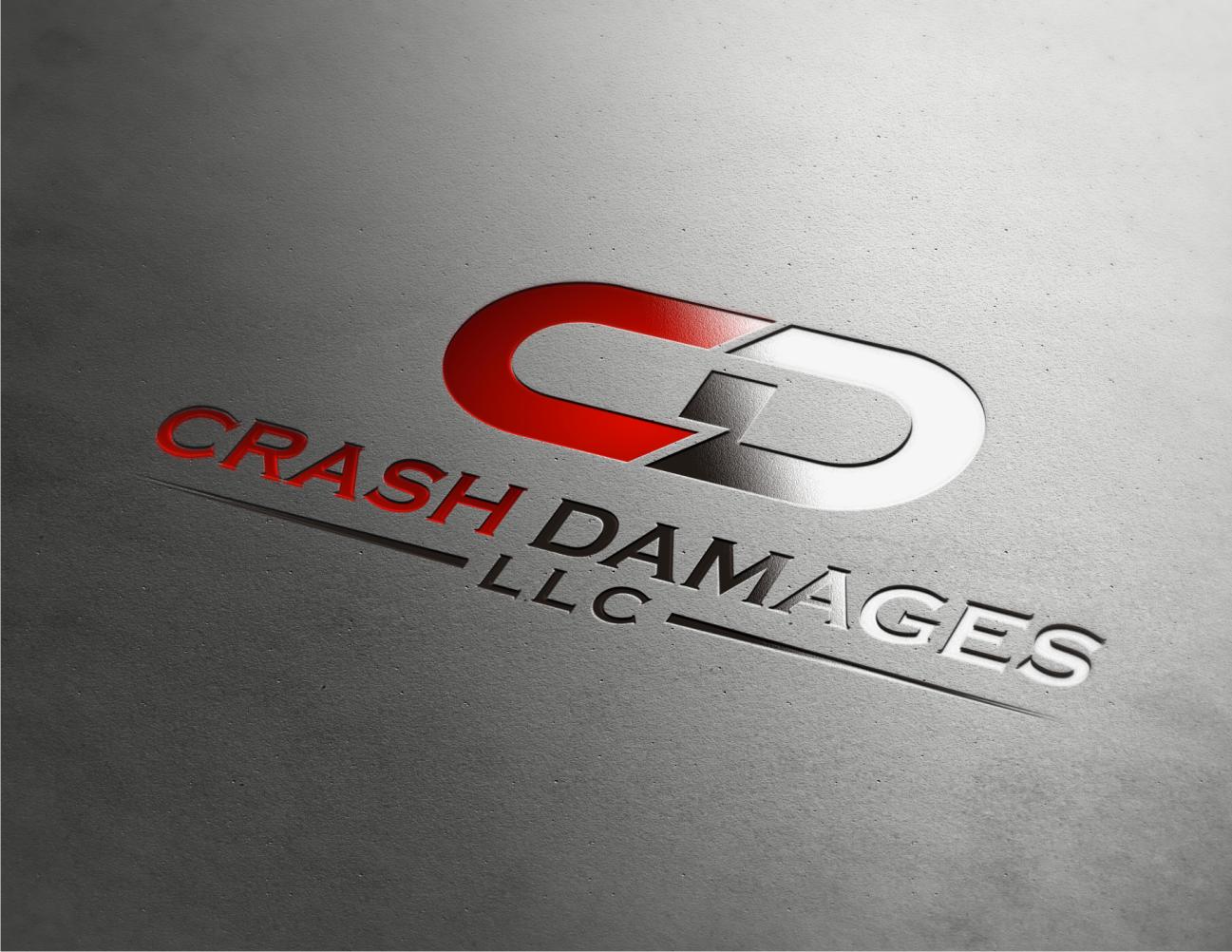 Help Crash Damages LLC with a new logo