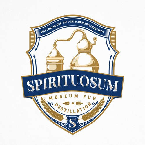 Distillation Logo for Spirituosum