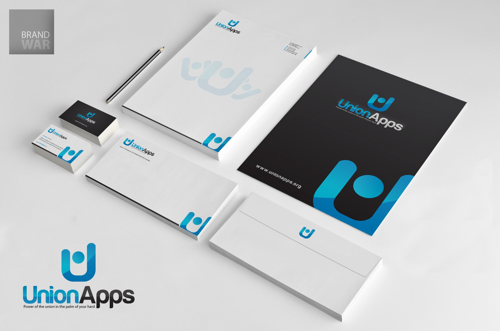stationery for UnionApps