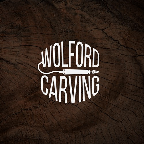 Logo Design Wolford Carving