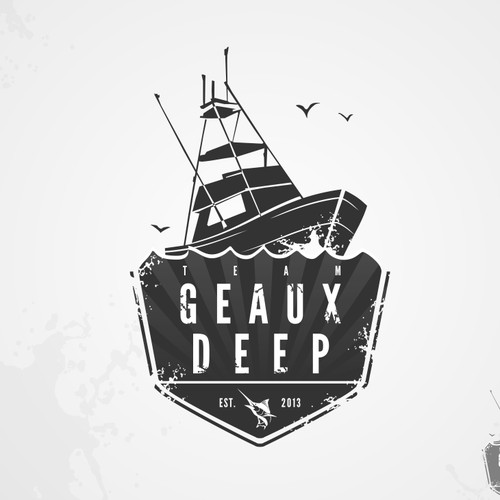 Create the next logo for  Team GEAUX DEEP