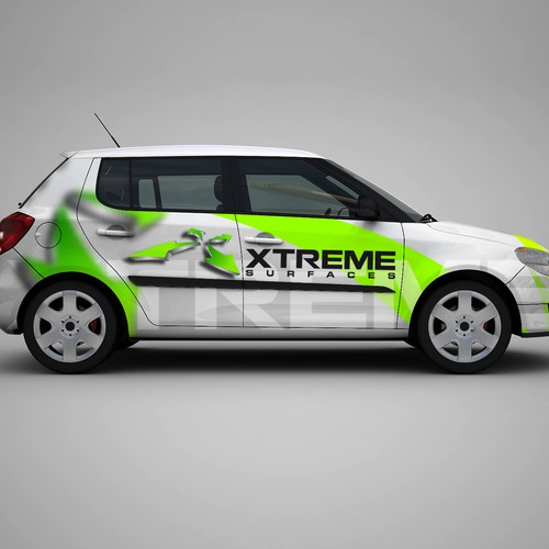Help Xtreme surfaces with a new logo and business card