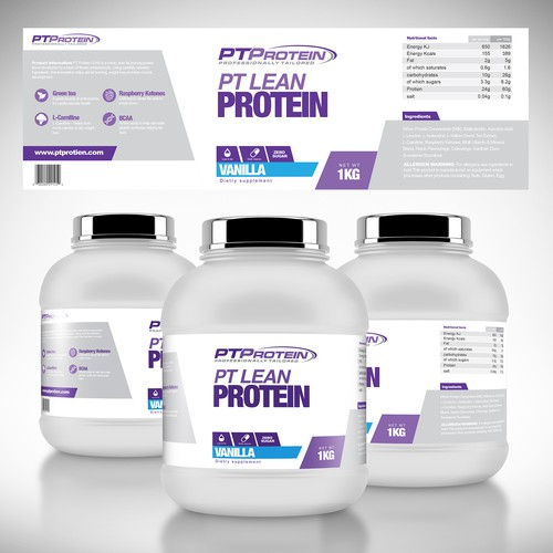 PT PROTEIN SUPPLEMENT RANGE