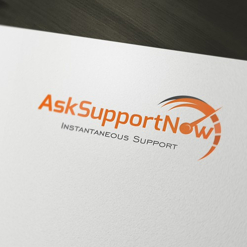 Create the next logo for AskSupportNow