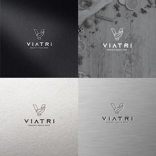 Viatri Logo design
