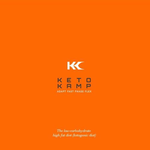 Simple logo for ketogenic diet
