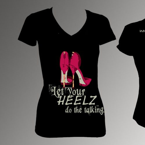 Create a winning t-shirt design! Be a billboard for stylish women everywhere!