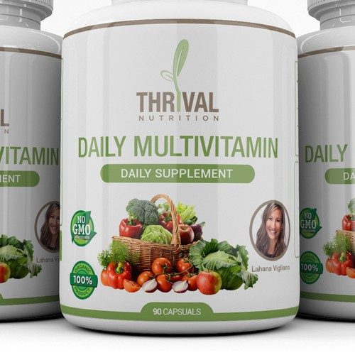Design Product label for Daily Multivitamin