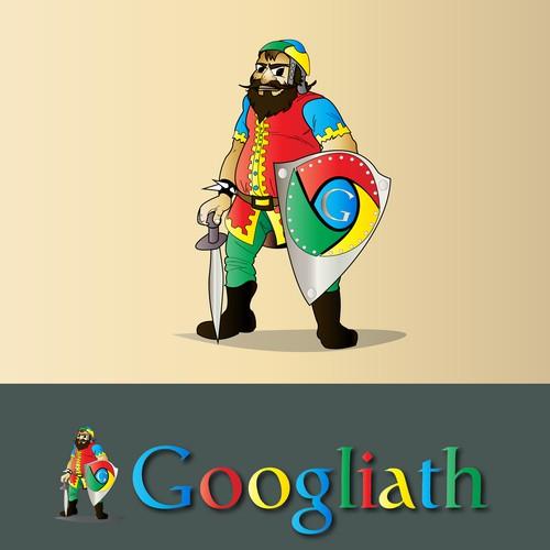 Mascot Art for Googliath