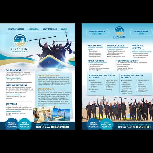 2 Page Flyer Design