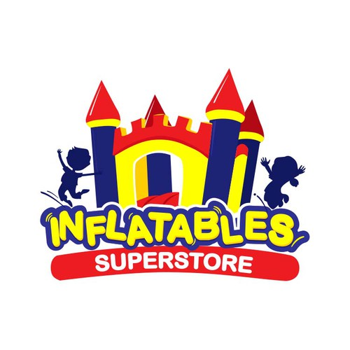 Create a winning logo for Inflatables Superstore - online retailer of commercial grade bounce houses