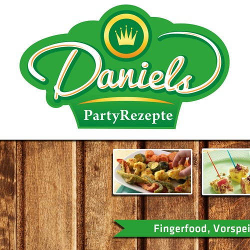 DanielsPartyRezepte sucht einzigartiges Logo für Kreative Häppli Fingerfood Kanal auf YouTube/logo for a YouTube channel