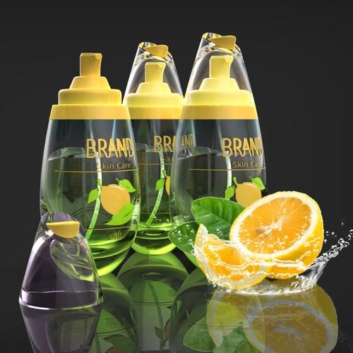 SkinCare Bottle Packaging