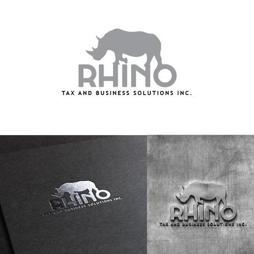 Bold financial logo design