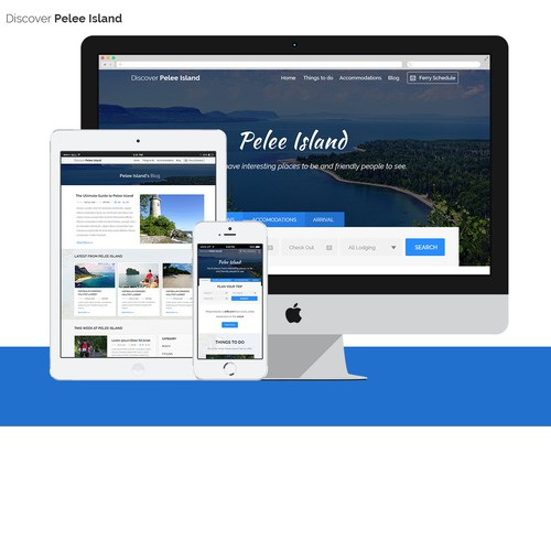 Pelee Island Website
