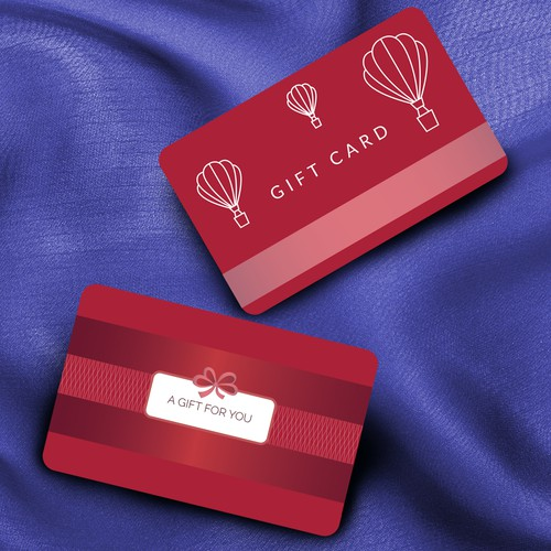 Gift Card concept for Retail shop