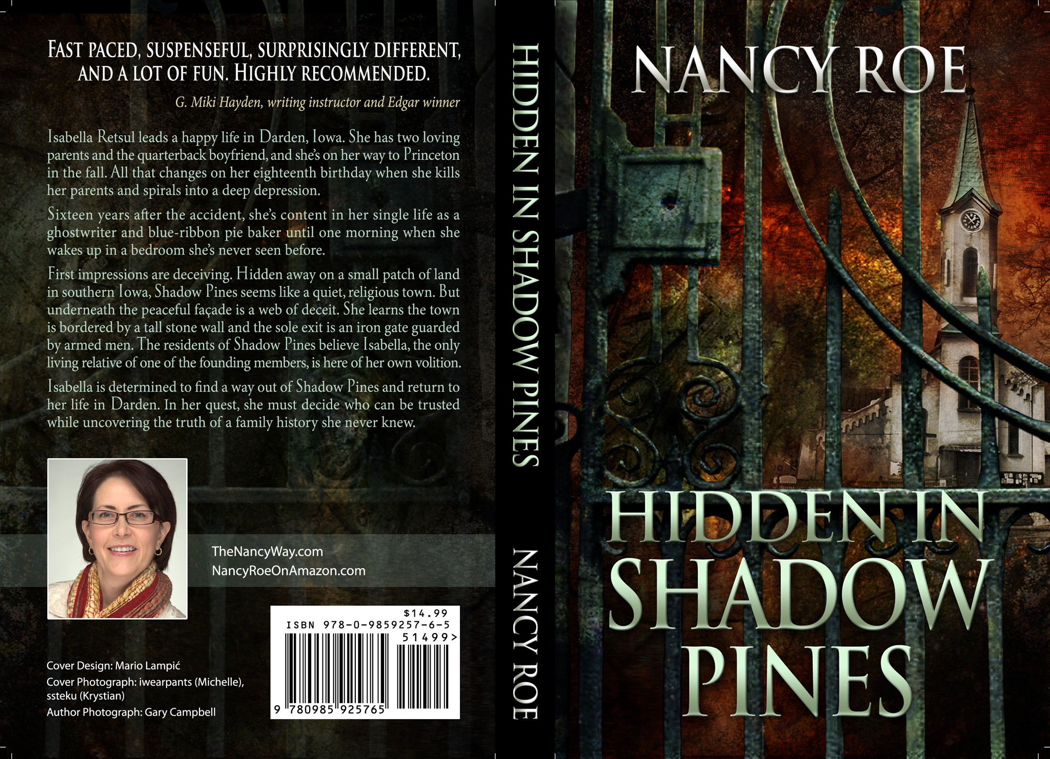 Book Cover for Hidden in Shadow Pines