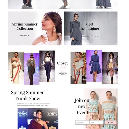 The glam closet boutique/shop
