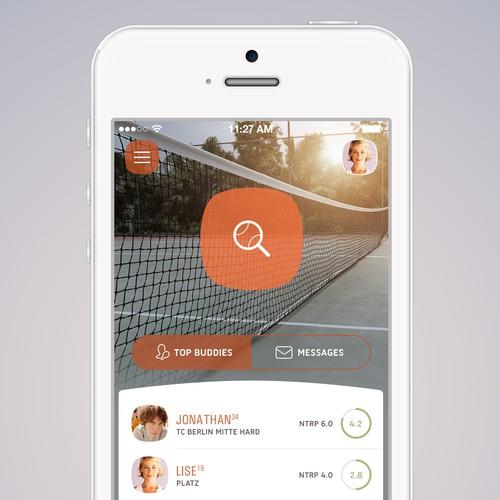 Tennis Buddy App