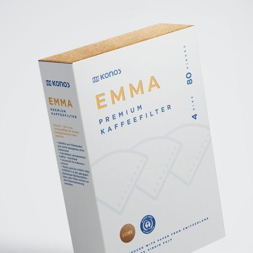 Coffee filther box design