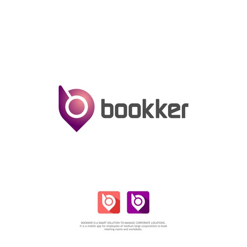 Logo Concept for Bookker