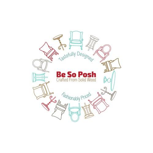 Be So Posh logo design