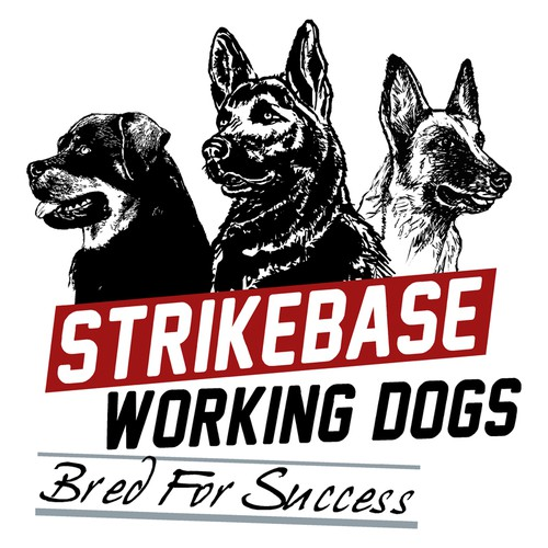 Help Strikebase Working Dogs with a new LOGO