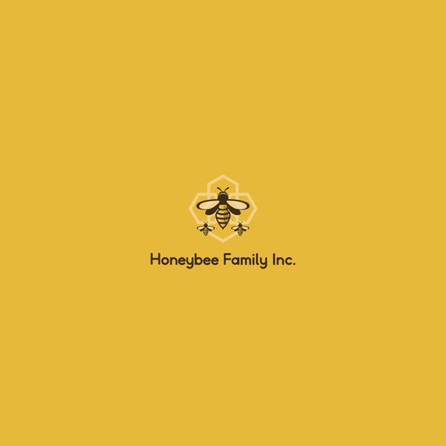 Logo design for HONEYBEE FAMILY INC.