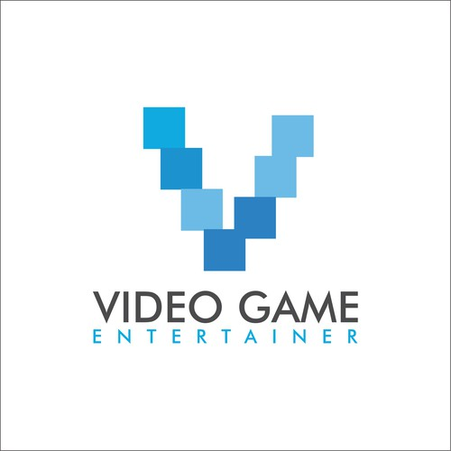 Concept logo for Video Game Entertainer
