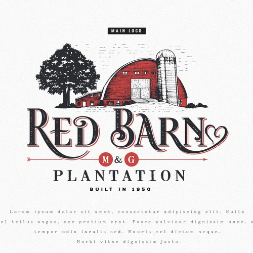 Logo for Red Barn Plantation