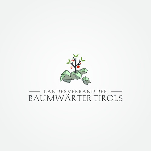 The Austrian fruit growing association needs a meaningful logo