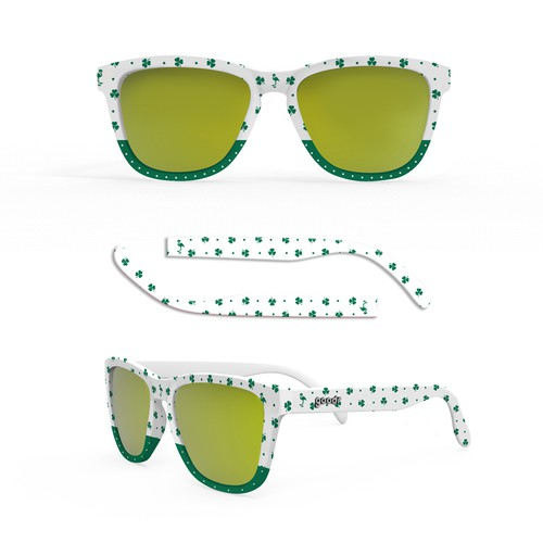 St. Patrick sunglass design
