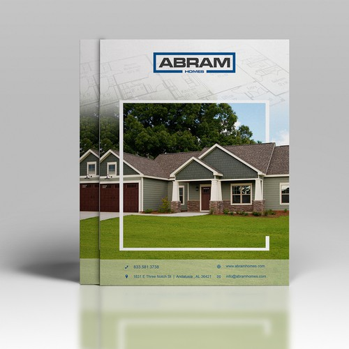 abram homes flyer design