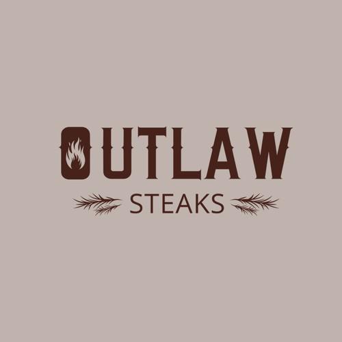 Outlaw Steaks Logo