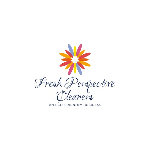 'Fresh Perspective Cleaners' Logo Design Concept