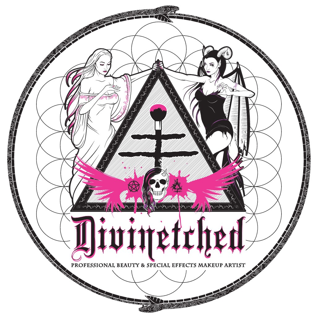 DIVINETCHED needs a creatively crazy new logo
