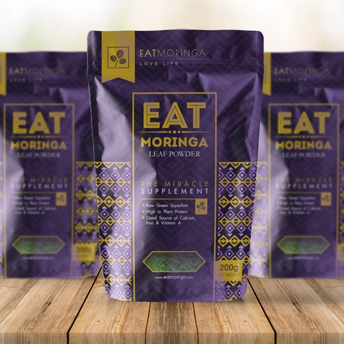 Eat Moringa High End Packaging