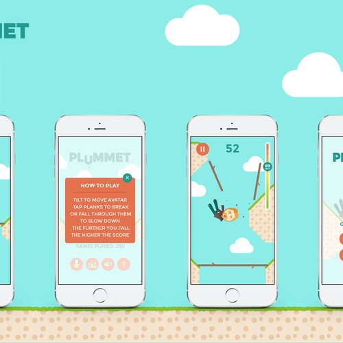 Endless falling iPhone game to mark aniversary of a real fall