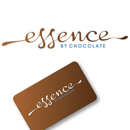 Be deep and soulful in designing a logo for Essence by Chocolate