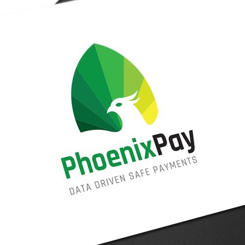 PhoenixPay logo design