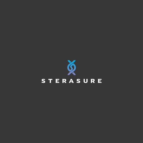 Sterasure logo and brand identity