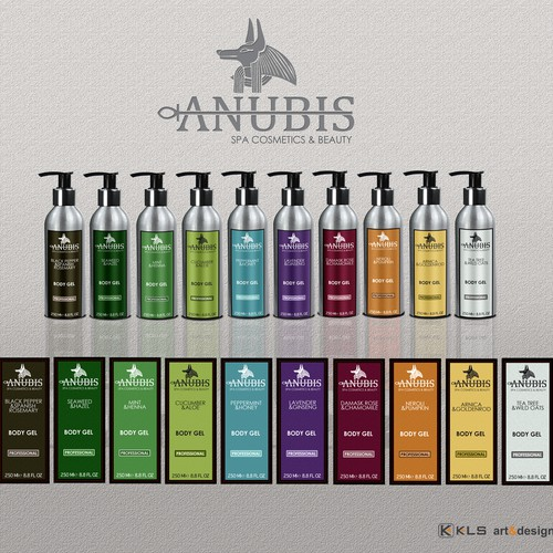 Anubis SPA Cosmetics & Beauty - Label
