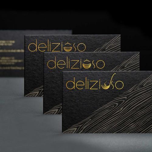 """design logo """"Delizioso"""""""