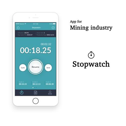 Minin Stopwatch App