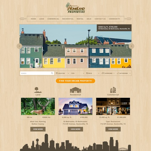 Landing Page - Real Estate