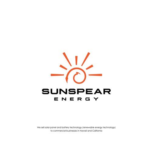 Logo design for SunSpear Energy