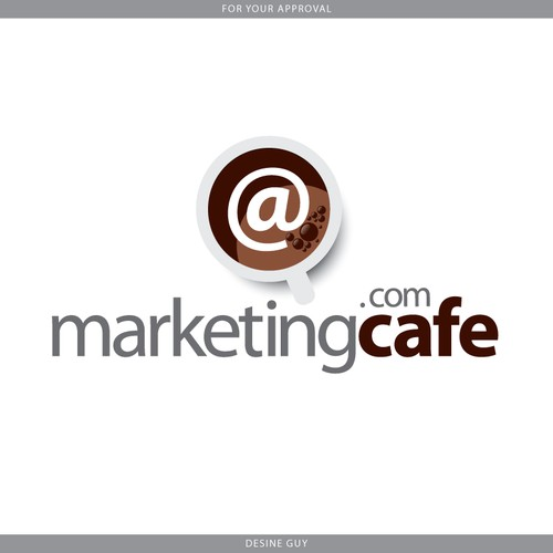 Logo Design for MarketingCafe.com