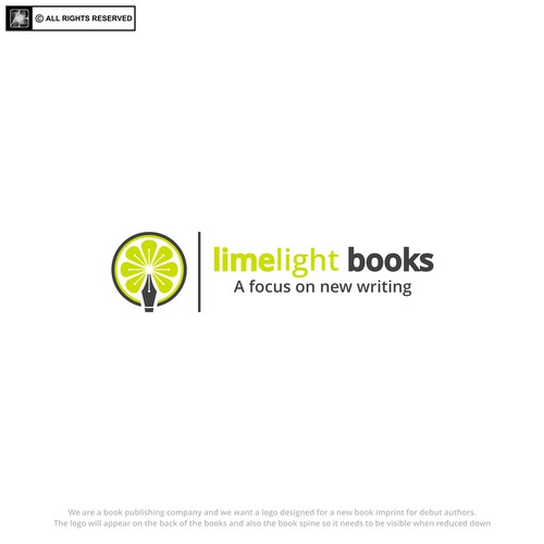 logo for limelight books